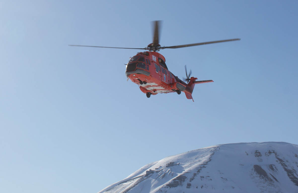 If Super Pumas are grounded, why not the governor's (and what was that 'other' helicopter at the ski marathon)?