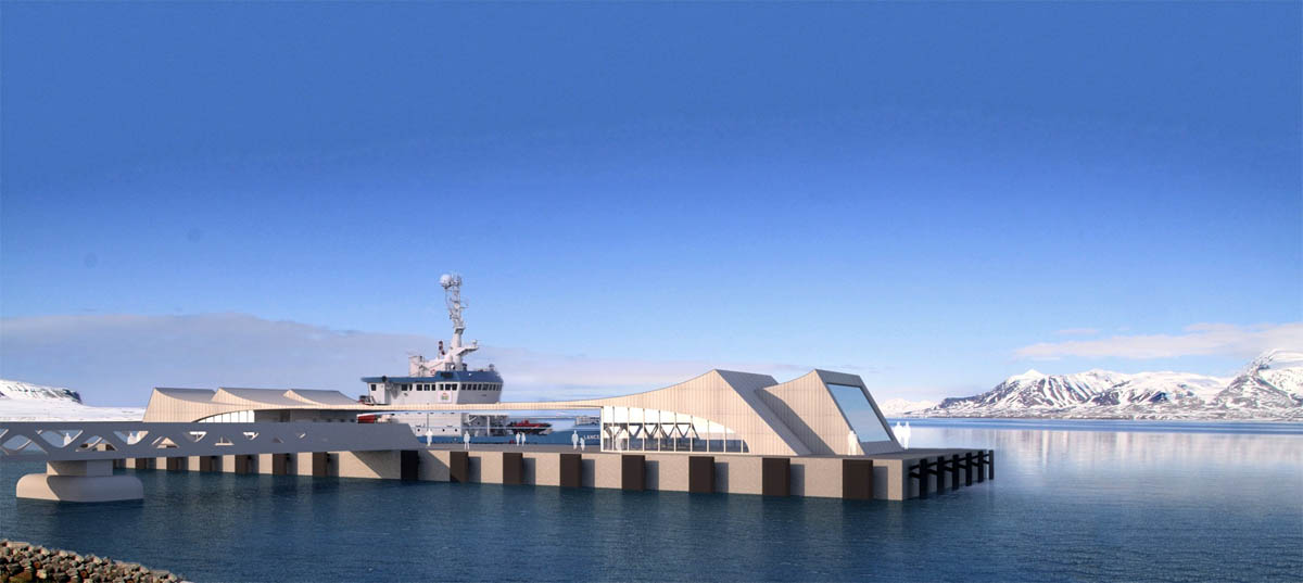 Rising tide: 300M for new Longyearbyen harbor – 100M more than originally planned –proposed by Parliament leaders