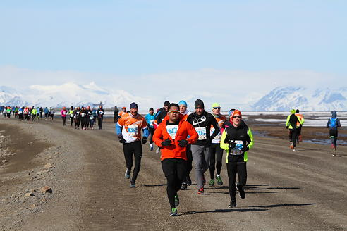 Blown to and fro: Strong winds giveth and strong winds taketh away for runners in biggest-ever Spitsbergen Marathon; local teen, 14, achieves notable win as fastest woman in 10K race