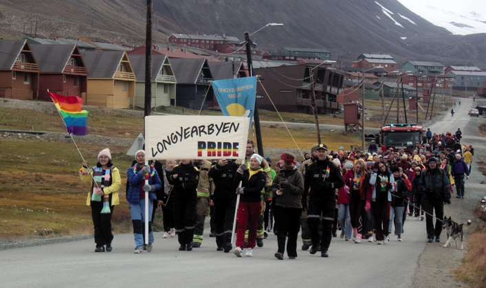RAINBOW CONNECTION: A priest, a governor, a mayor, teachers and kids show their colors in Svalbard's first Pride parade – and everybody (plus nature and/or God) is totally cool with it