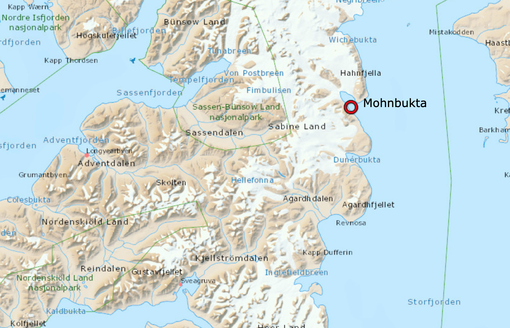 POLAR BEAR INJURES MAN IN EAST SVALBARD: Bear shot and killed after attack on two-person excursion to Mohnbukta