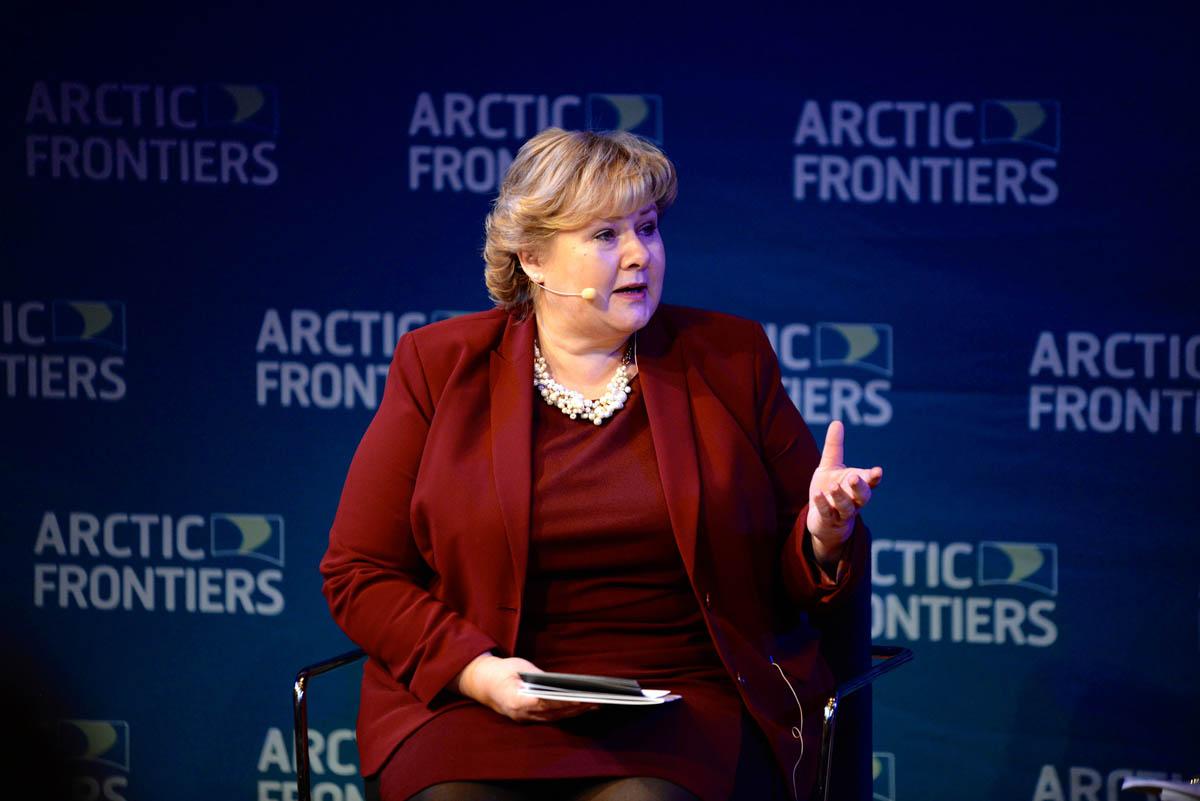 Erna Solbert at Arctic Frontiers 2015
