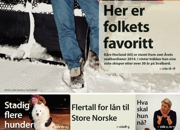 Svalbardposten: Jan. 23, 2015