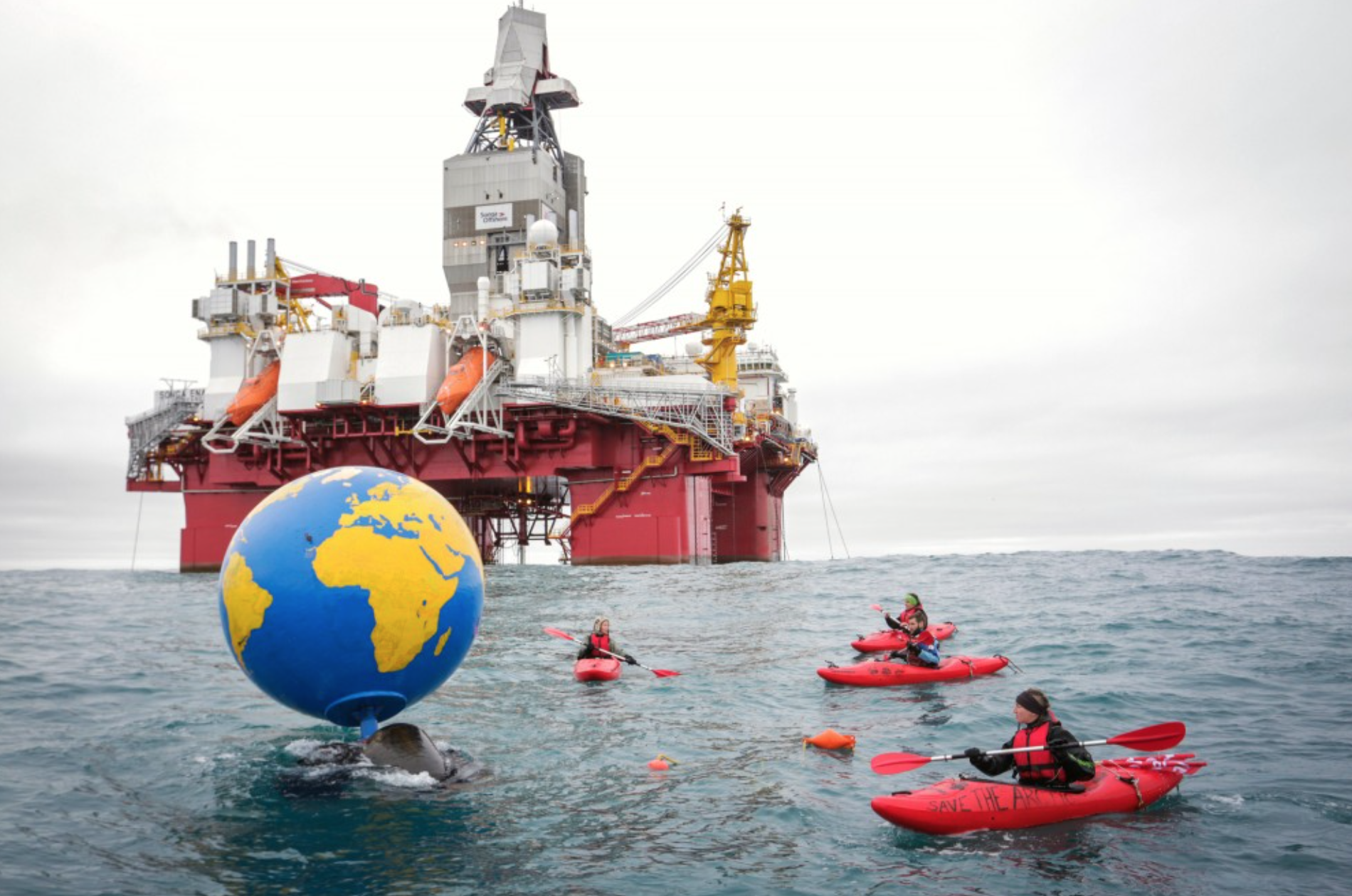 greenpeaceoilprotest